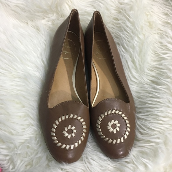 Jack Rogers Shoes - Jack Rogers brown flats
